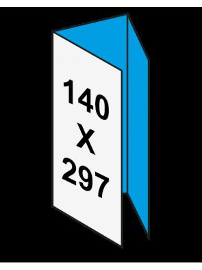 Pieghevole 14x29,7